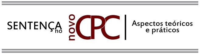 Sentença no Novo CPC - logo